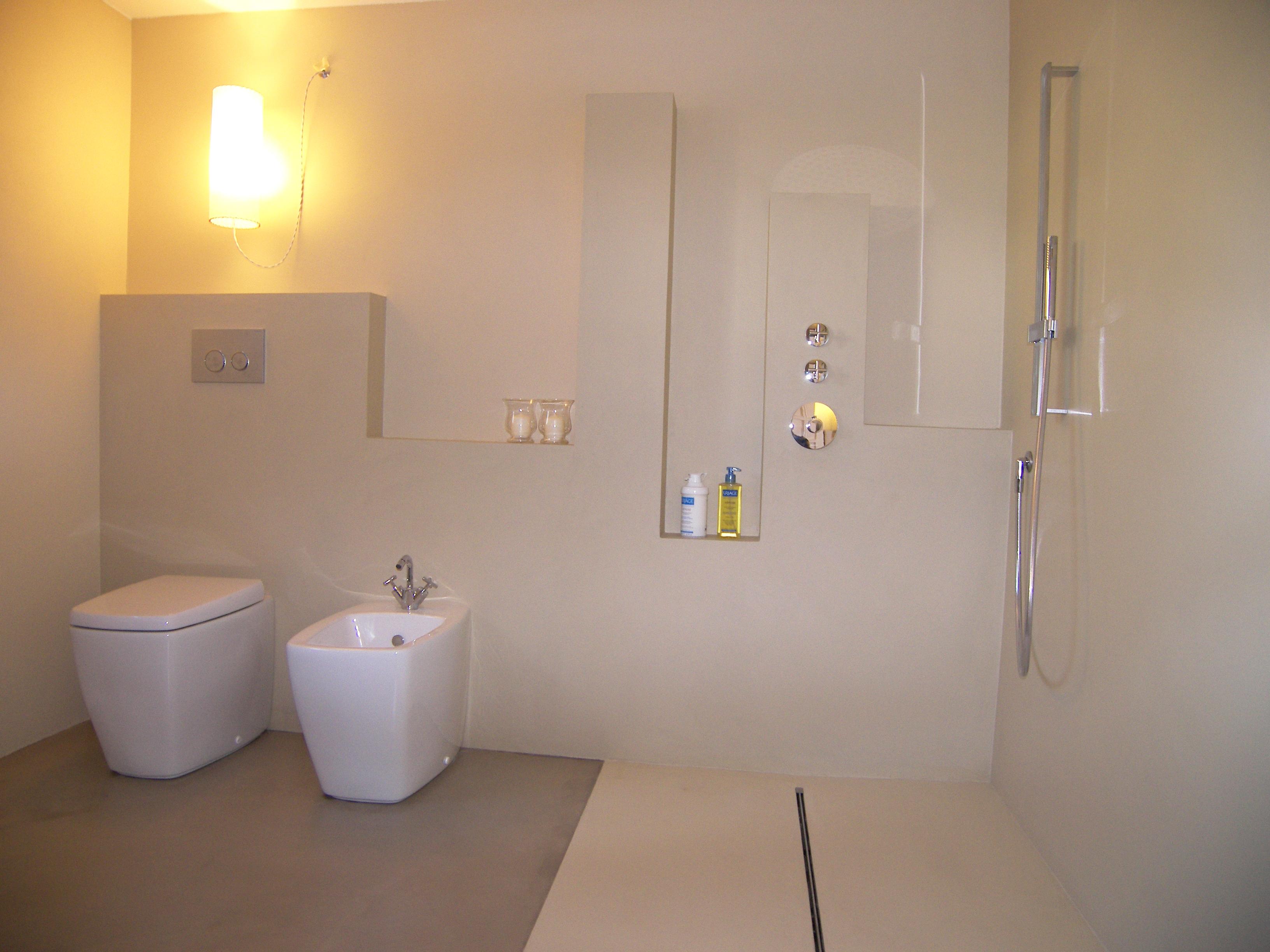 Excellent interior design bagno with resina in bagno - Pavimenti bagno in resina ...
